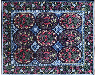 Oriental Wool Hand Knotted Arts & Crafts Rug