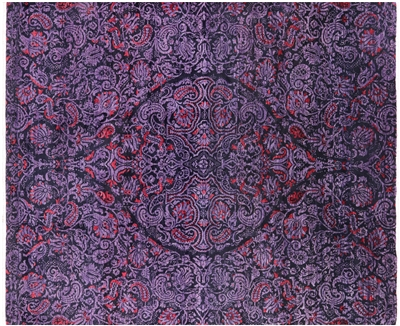 Handmade William Morris Oriental Area Rug