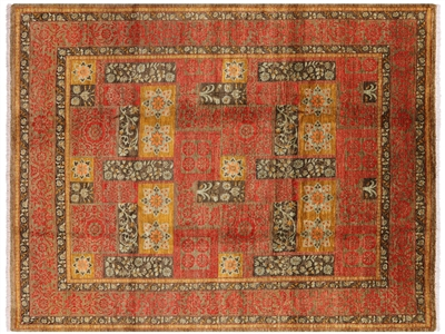 Hand Knotted Oriental Suzani Rug