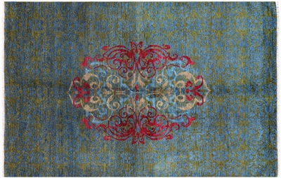Hand Knotted Oriental Wool Rug