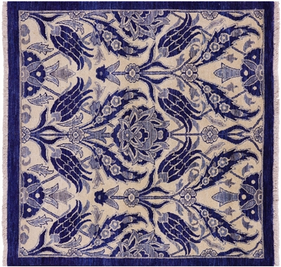 Square William Morris Area Rug