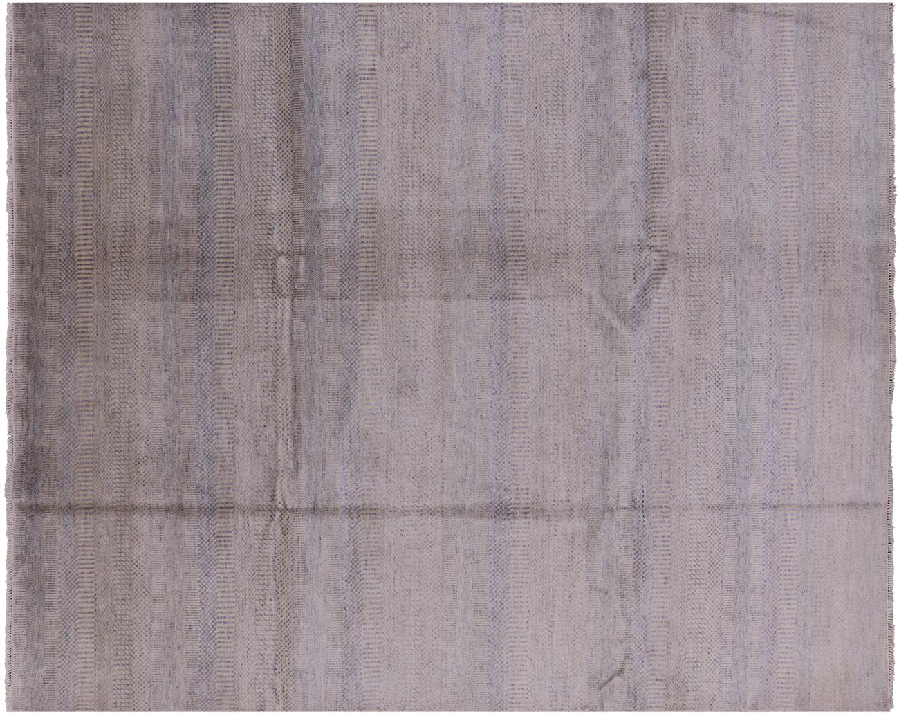 8 X 10 Wool Silk Savannah Gabbeh Oriental Rug
