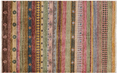 Hand Knotted Super Gabbeh Loribaft Rug