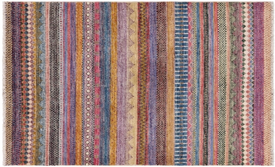 Hand Knotted Wool Super Gabbeh Loribaft Area Rug