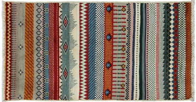 Super Gabbeh Hand Knotted Rug
