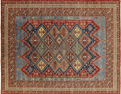Fine Serapi Hand Knotted Wool Oriental Rug