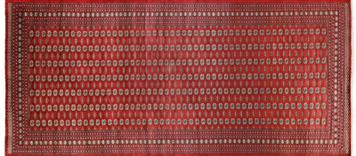 Silky Bokhara Hand Knotted Wool Rug
