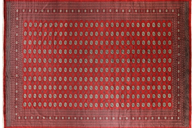 Hand Knotted Bokhara Oriental Wool Rug