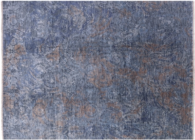 Persian Handmade Wool & Silk Contemporary Rug