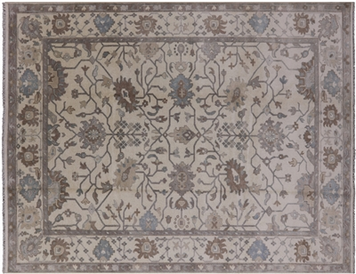 All Over Oushak Hand Knotted Area Rug