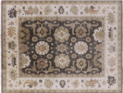 Oriental Wool Hand knotted Oushak Rug