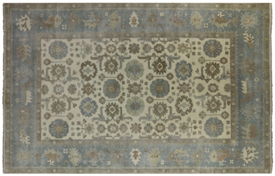 Oushak Oriental Hand Knotted Rug