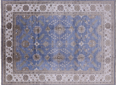 William Morris Hand Knotted Pure Silk Oriental Area Rug