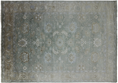 Pure Silk Persian Hand Knotted Area Rug
