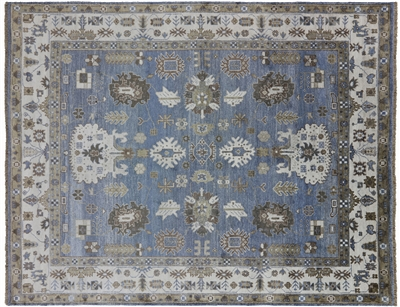 Persian Hand Knotted Pure Silk Area Rug