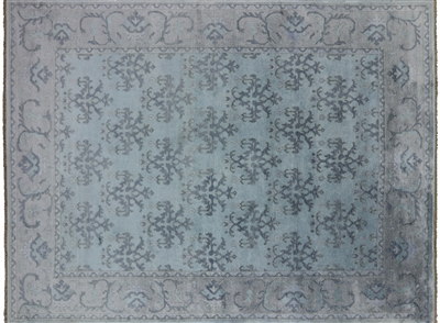 Hand Knotted Pure Silk Persian Area Rug