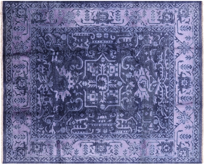 Fine Serapi Hand-Knotted Wool & Silk Area Rug