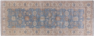 Oushak Hand Knotted Wool Rug