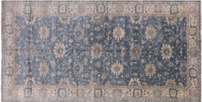 Oushak Hand Knotted Oriental Rug
