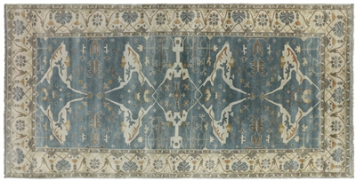 Hand Knotted Wool Oushak Oriental Rug