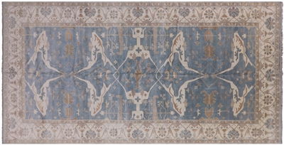 Hand Knotted Oushak Oriental Rug