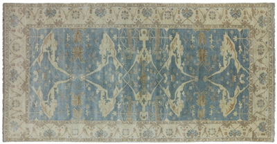 Oushak Hand Knotted Wool Oriental Rug