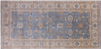 Hand Knotted Oriental Oushak Rug