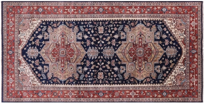 Oriental Wool Heriz Serapi Hand Knotted Rug