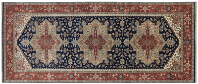 Oriental Heriz Serapi Hand Knotted Wool Rug