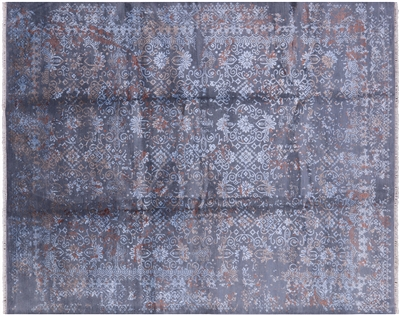 Wool & Silk Hand Knotted Oriental Rug