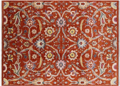 Hand Knotted Oriental Fine Serapi Rug