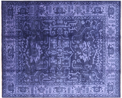 Fine Serapi Wool & Silk Area Rug