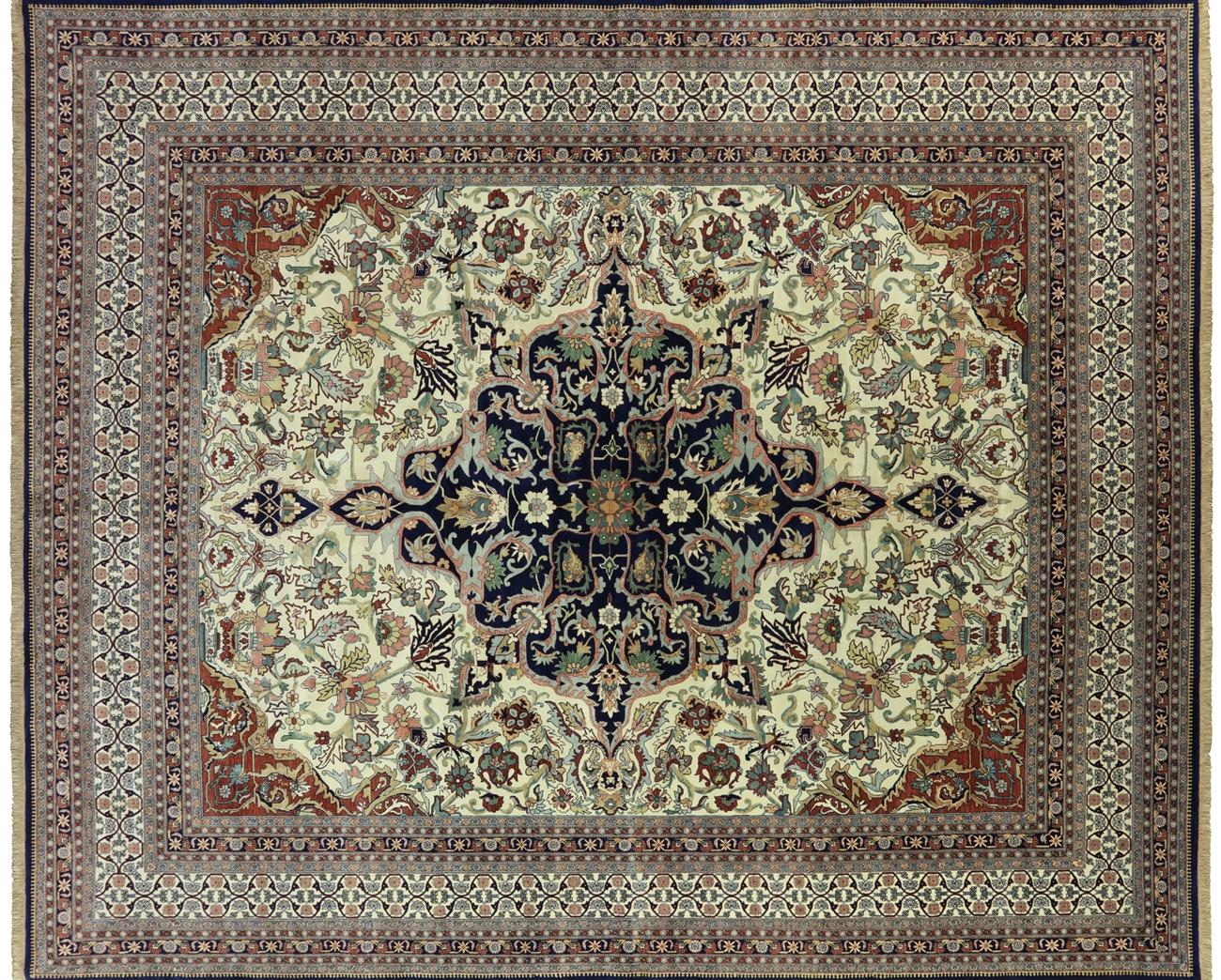 Oriental Fine Serapi Handmade Area Rug 13 X 16