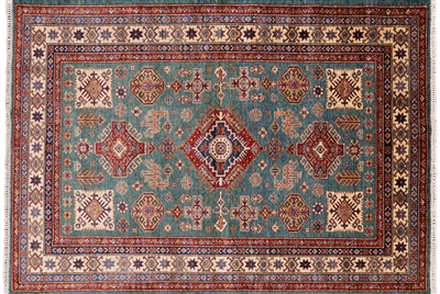 Super Kazak Wool Rug
