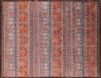 Hand Knotted Wool Southwest Navajo Area Rug