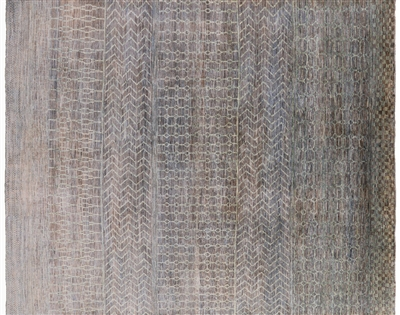 Oriental Savannah Grass Hand Knotted Gabbeh Area Rug