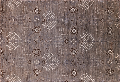 Undyed Natural Persian Ziegler Area Rug