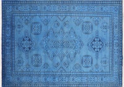 Super Kazak Full Pile Wool Overdyed Hand Knotted Rug