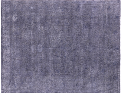 Hand Knotted Wool Overdyed Area Rug