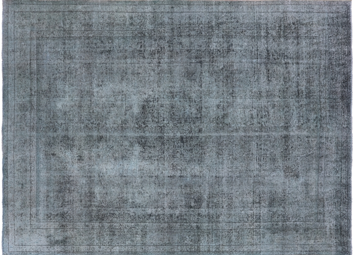 Hand Knotted Wool Overdyed Rug