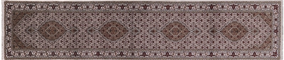 Runner Persian Mahi Tabriz Wool & Silk Rug