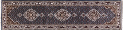 Runner Mahi Persian Tabriz Wool & Silk Rug