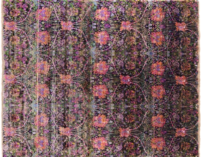 Pure Silk Persian Handmade Rug