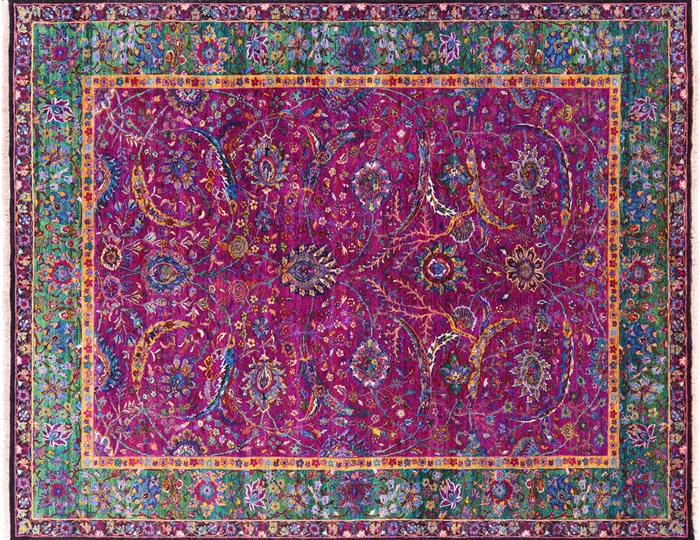 Silk Persian Hand Knotted Rug