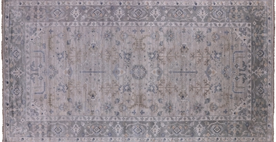 Hand Knotted Wool Oushak Rug