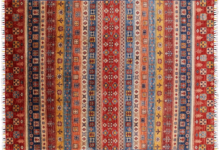 Oriental Super Gabbeh  Lori Buft Hand Knotted Wool Area Rug