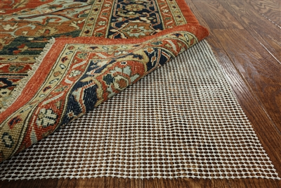 Ultra Non-Slip Rug Pad Specialized for Hand-Knotted Rugs 2x8