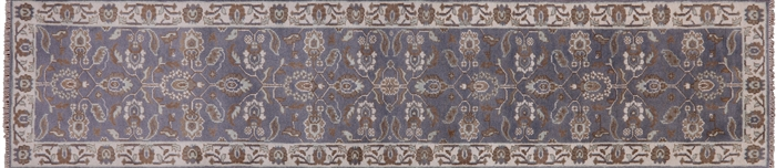 Traditional Runner Oushak Hand Knotted Rug