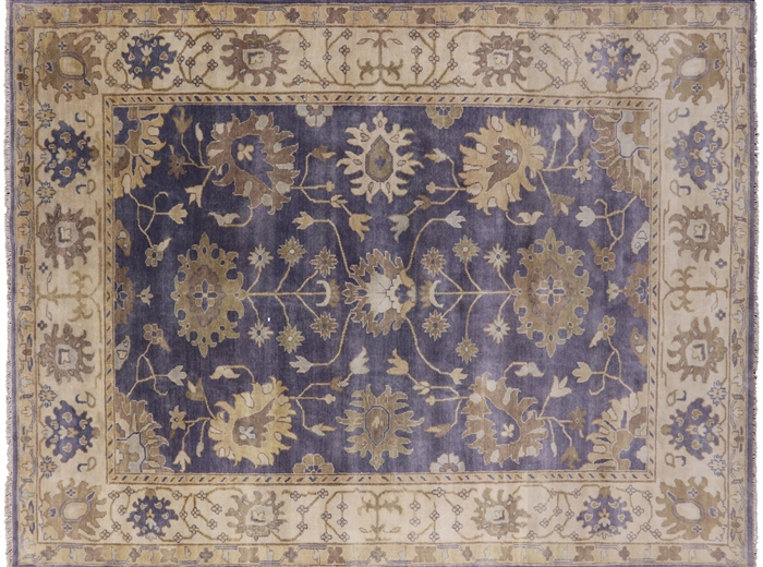 Oushak Hand Knotted Oriental Wool Rug