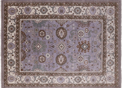 Oriental Oushak Hand Knotted Area Rug